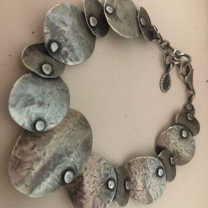 Silpada Oxidized .925 Silver Bracelet